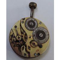 """Механизм от карманных часов """"IWC  Schaffhausen."""" Швейцария до 1917г. Диаметр 4.1 см. Не исправный."""