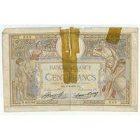 Франция, 100 франков 1933 год. - Rедкая -