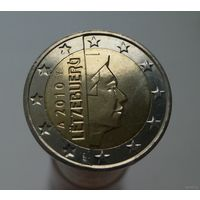 2 евро 2010 Люксембург UNC