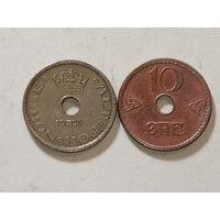 Оре Норвегия 1925 и 1947 г