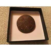 Брошь Кельтский крест Шотландия 50-60-е гг