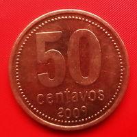 52-16 Аргентина, 50 сентаво 2009 г.