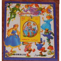 2002 Сомали Рождество СОСТОЯНИЕ ИДЕАЛЬНОЕ БЛОК **