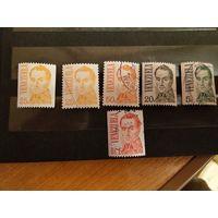 6 марок Венесуэлы (1-л1)