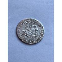 3 гроша 1592г (Рига)