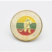 Официальный знак федерации хоккея  Литвы