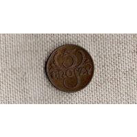 Польша 5 грошей 1938 /(DY)