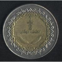 Ливия 1/2 динара 2004-2006 г. Неплохие!!