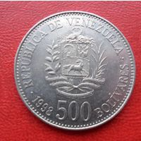 500 боливаров 1998 года Венисуэлла - из коллекции