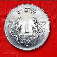 06-26 Индия, 1 рупия 2000 г.