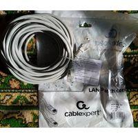 Сетевой Ethernet кабель RJ-45 (LAN) 10 метров.