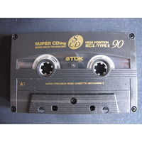 Аудиокассета TDK CDing High Position 90