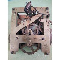 Часы настенные 1904год, механизм только