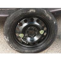 Колесо запасное (таблетка) BMW 5 E60 2003-2004+ДОМКРАТ
