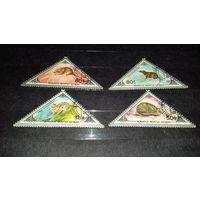 Монголия 1983 Фауна Грызуны 4 марки