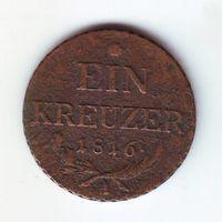 Австрия. 10 крейцеров 1816 г.