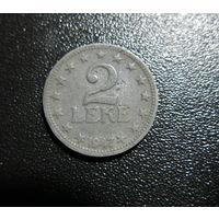 АЛБАНИЯ 2 лека 1947 цинк