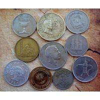 Азия. 10 монет-10 разных стран.-3