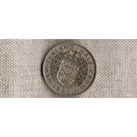 Новая Зеландия 1/2 пол 0,5 кроны 1950/ГЕОРГ 6/(Li)
