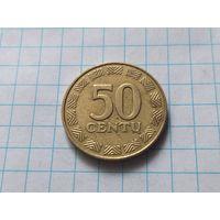 Литва 50 центов, 2000