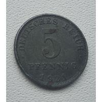 "Германия 5 пфеннигов, 1921 ""A"" - Берлин  5-1-26"