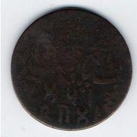 БЕНГАЛЬСКОЕ ПРЕЗИДЕНТСТВО 1 ПАЙС 1796. РЕДКАЯ