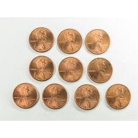 1 цент США 2000 D. Поштучно