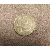 Финляндия 5 марок 1993