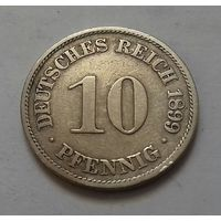 10 пфеннигов, Германия 1899 A