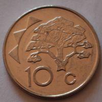 Намибия, 10 центов 2012 г