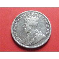 9 пиастров 1919 Кипр КМ# 13 серебро