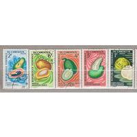 Флора фрукты Камерун 1967 год лот 1012
