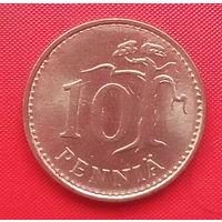 66-22 Финляндия, 10 пенни 1981 г.