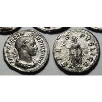 Римская Империя, Александр Север, 232 год, денарий, со Спес на реверсе