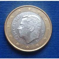 Испания 1 евро 2017