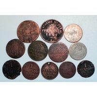 Лот монет (12 шт) Пфенниги 2