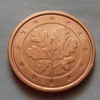 2 евроцента, Германия 2005 D, UNC