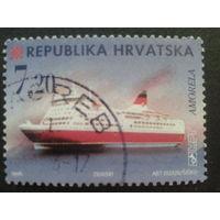Хорватия 1998 стандарт, флот Mi-2,5 евро гаш.