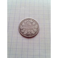 1/2 марки 1906 год. (А).