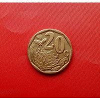 44-13 ЮАР, 20 центов 2010 г.