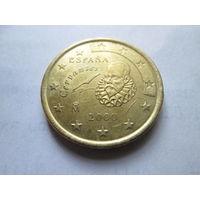 50 евроцентов, Испания 2000 г.