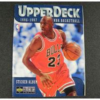 Куплю наклейки для альбома NBA 1996-1997  Upper Deck