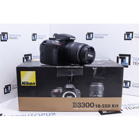 Зеркальная камера Nikon D3300 Kit 18-55mm II (24.2 Мп). Комплект. Гарантия