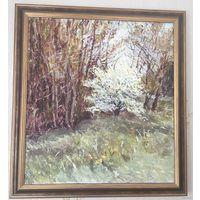 Распродажа, Картина маслом на холсте-  Весна , В. Устиненко , 2008г
