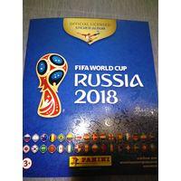 Альбом для наклеек FIFA 2018 Russia panini