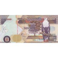 Замбия 5000 квача 2010 года (UNC)