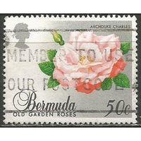 Бермуды. Розы. 1989г. Mi#552.