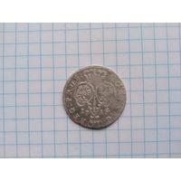 6 грошей 1715 г.