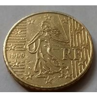 50 евроцентов, Франция 1999 г.