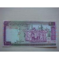 Иран 2000 риалов 1986-2005 г